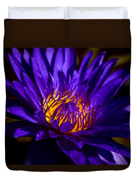 Water Lily 7 Duvet Cover by Julie Palencia