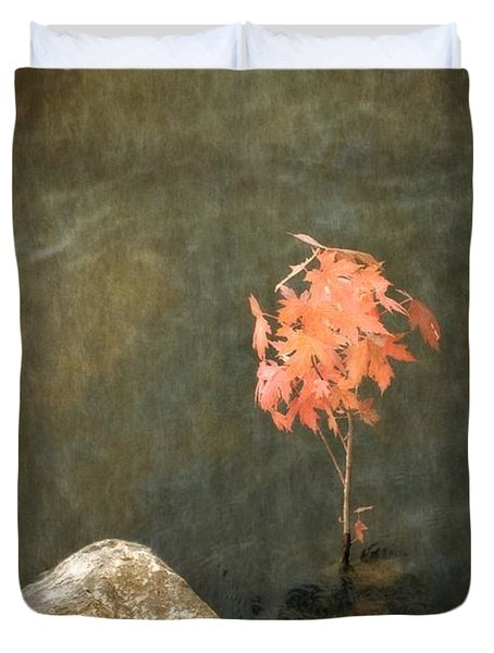 Water Maple Duvet Cover by Michelle Calkins