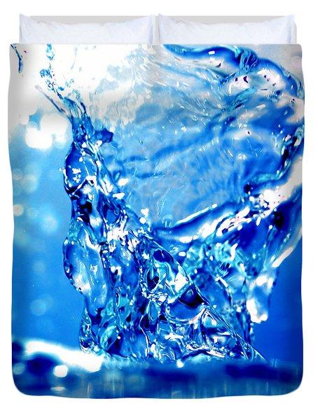 Water refreshing Duvet Cover by Michal Bednarek