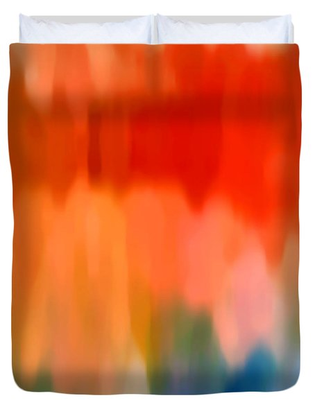 Watercolor 1 Duvet Cover by Amy Vangsgard