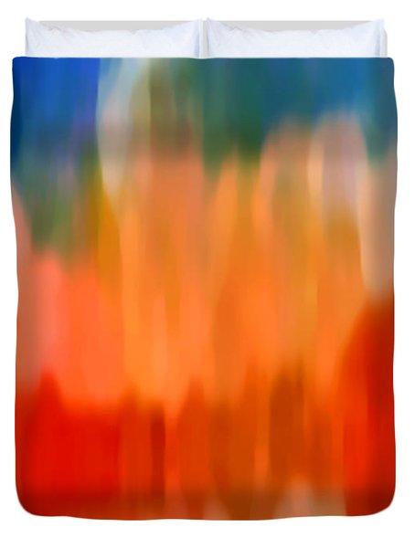 Watercolor 3 Duvet Cover by Amy Vangsgard