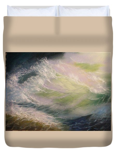 Wave Duvet Cover by Elena Sokolova