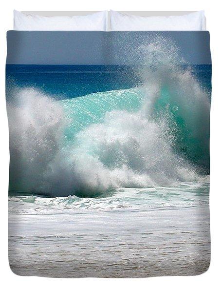 Wave Duvet Cover by Karon Melillo DeVega