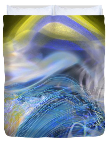 Wave Theory Duvet Cover by Richard Thomas