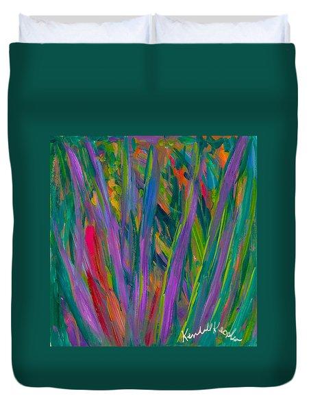 Waving Duvet Cover by Kendall Kessler