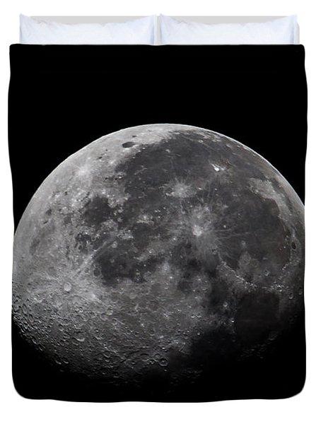 Waxing Moon Duvet Cover by Nila Newsom