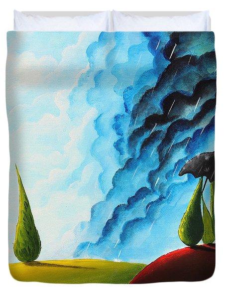 Weather Change Duvet Cover by Nirdesha Munasinghe