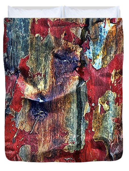 Weathered Duvet Cover by Marcia Colelli