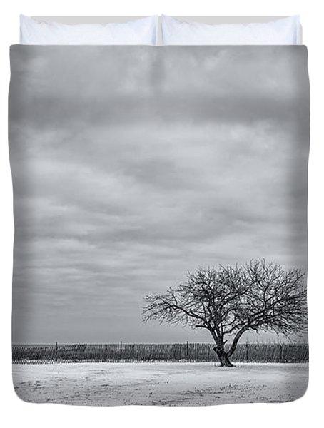 Weeping Souls Of Winter Desires Duvet Cover by Evelina Kremsdorf