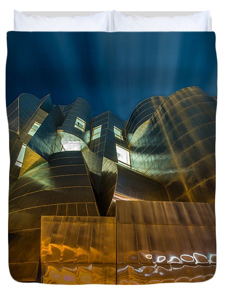 Weisman Art Museum Duvet Cover by Mark Goodman
