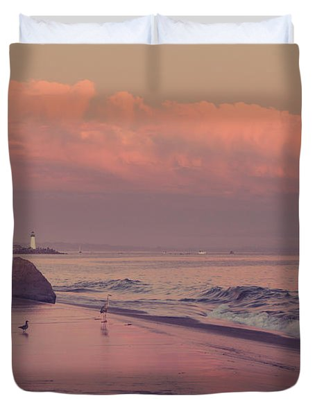 We'll Just Sit Here For a While Duvet Cover by Laurie Search