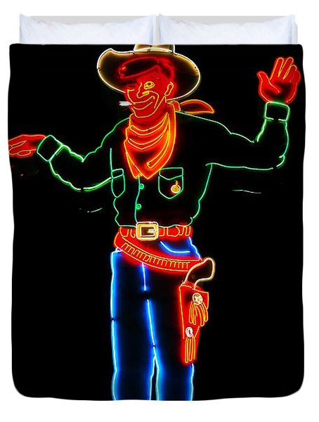 Wendover Willie Duvet Cover by Jeff Swan