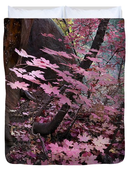 West Fork Fall Colors Duvet Cover by Dave Dilli