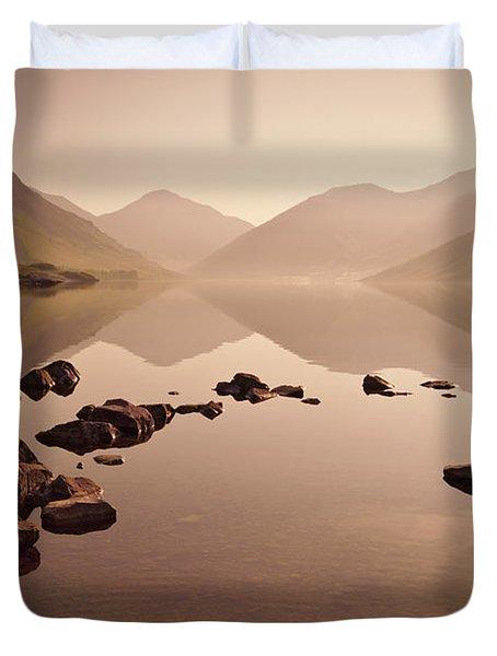 Wetlands Mornings Duvet Cover by Evelina Kremsdorf