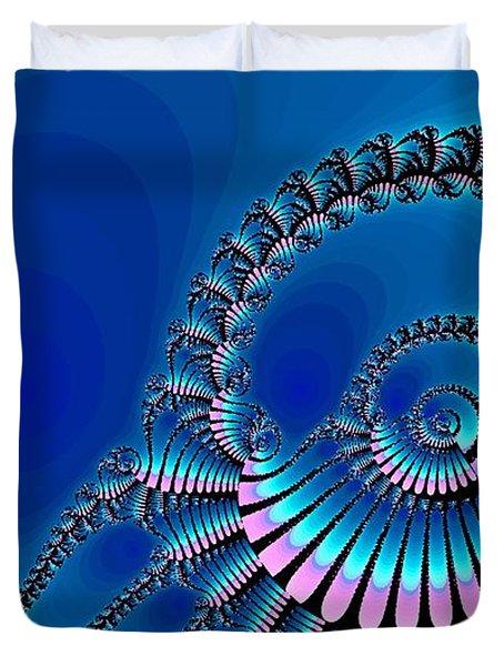 Wheel of Fortune Duvet Cover by Anastasiya Malakhova