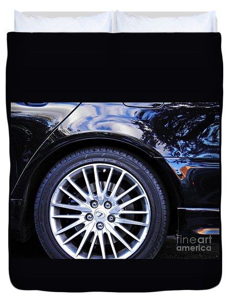 Wheel Duvet Cover by Sarah Loft