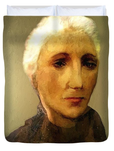 When I'm Sixty-four Duvet Cover by RC DeWinter