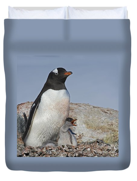 Where is my Krill... Duvet Cover by Nina Stavlund