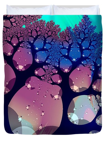 Whimsical Forest Duvet Cover by Anastasiya Malakhova
