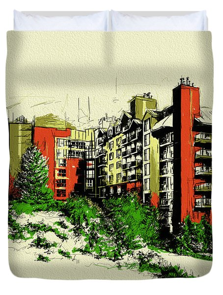 Whistler Art 004 Duvet Cover by Catf