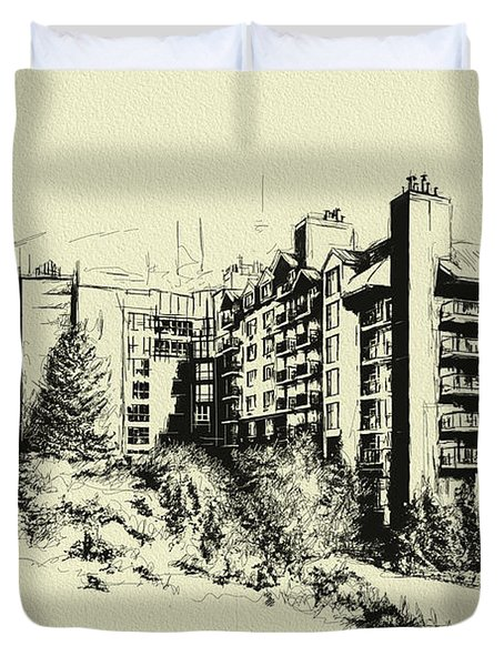 Whistler Art 007 Duvet Cover by Catf