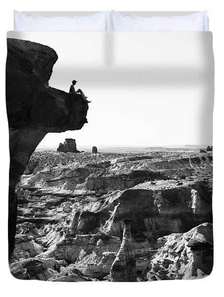 White Rocks Duvet Cover by Chad Dutson