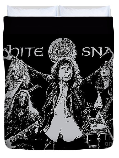 Whitesnake No.01 Duvet Cover by Unknow