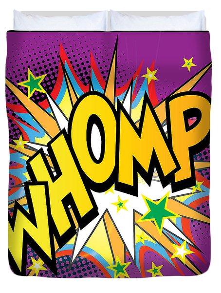 Whomp Duvet Cover by Gary Grayson