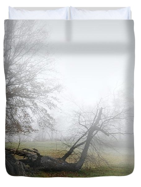 Who's Sorry Now Duvet Cover by Diana Angstadt