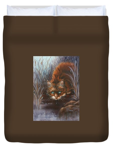 Wild At Heart Duvet Cover by Cynthia House