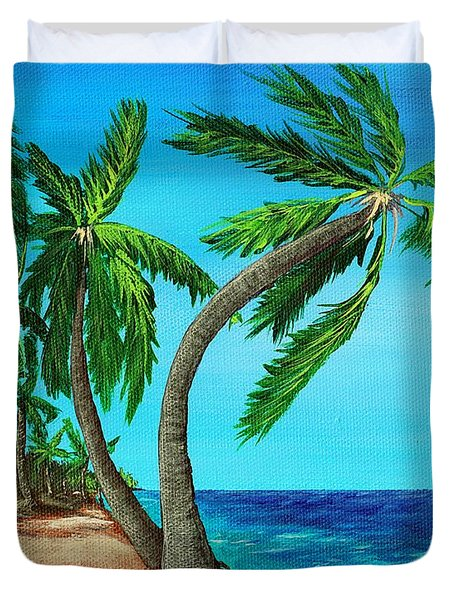 Wild Beach Duvet Cover by Anastasiya Malakhova