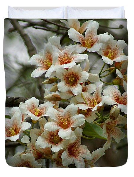 Wild Flowering Beauty Duvet Cover by Kim Pate
