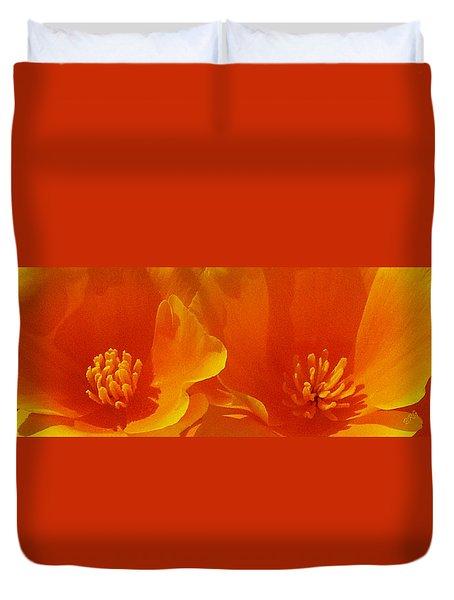 Wild Poppies Duvet Cover by Ben and Raisa Gertsberg
