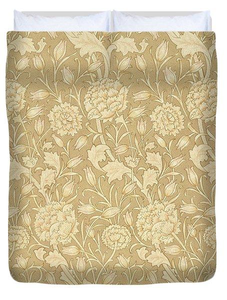 Wild Tulip Wallpaper Design Duvet Cover by William Morris