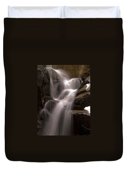 Wildcat Falls Duvet Cover by Bill Gallagher