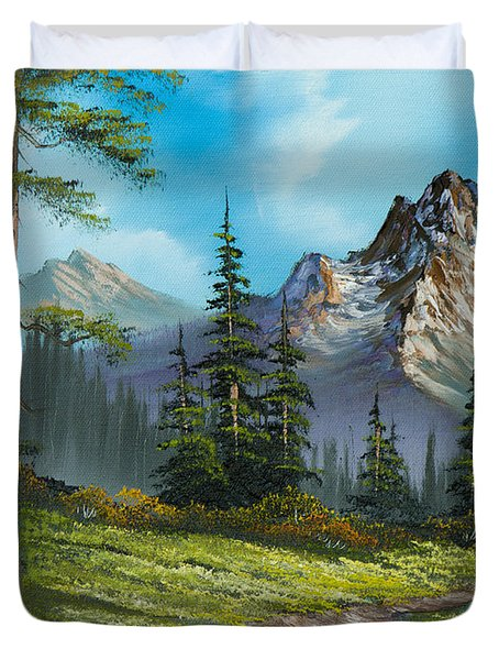 Wilderness Trail Duvet Cover by C Steele
