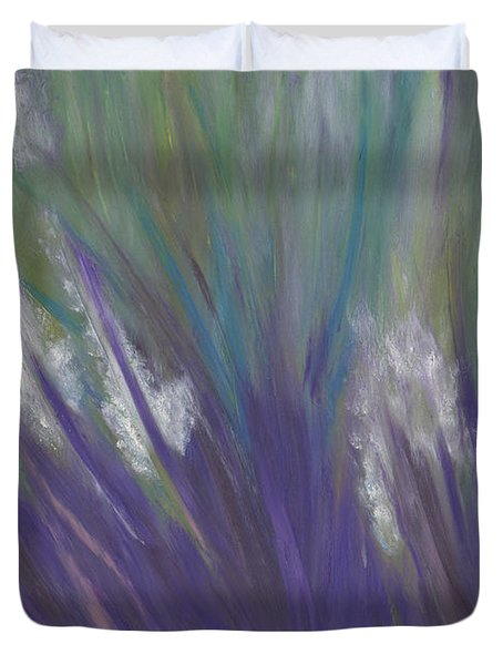 Wildflowers by jrr Duvet Cover by First Star Art