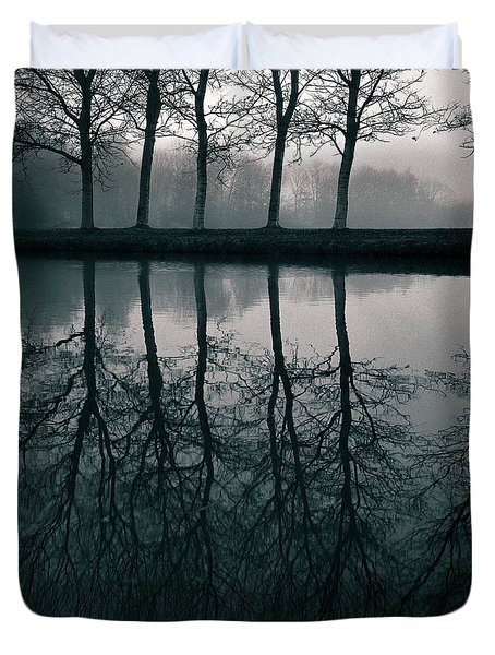 Wilhelminapark Duvet Cover by Dave Bowman
