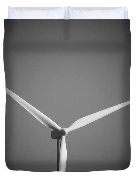 Wind Turbine Duvet Cover by Wim Lanclus