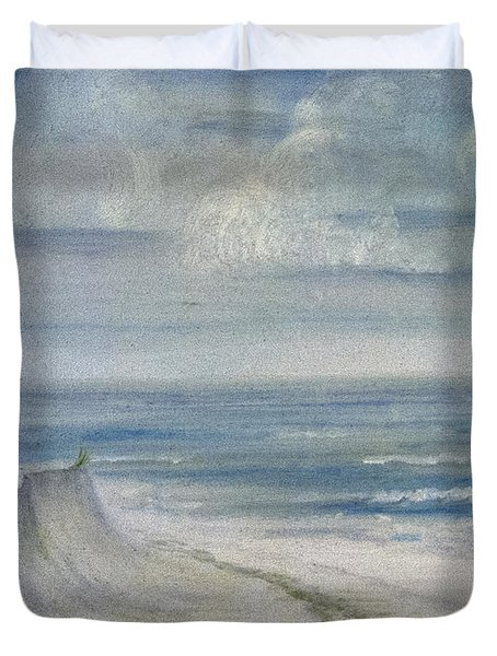Windblown Duvet Cover by Judy Hall-Folde