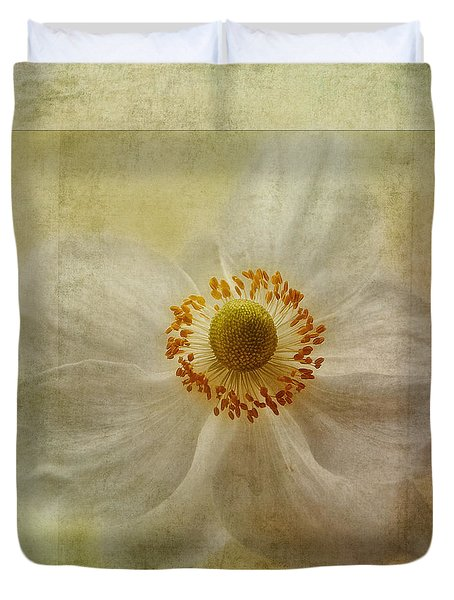 Windflower Textures Duvet Cover by John Edwards