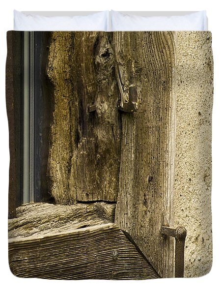 Window Frame Detail 2 Duvet Cover by Heiko Koehrer-Wagner