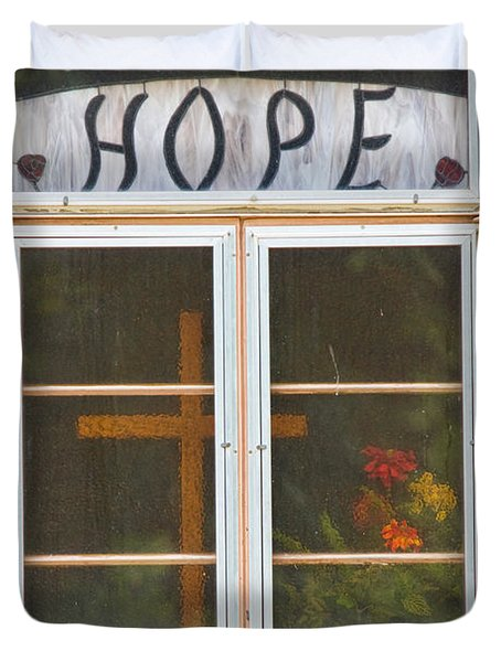 Window Of Hope 2 Duvet Cover by James BO  Insogna