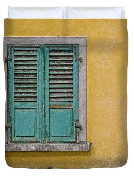 Window Shutter Duvet Cover by Heiko Koehrer-Wagner