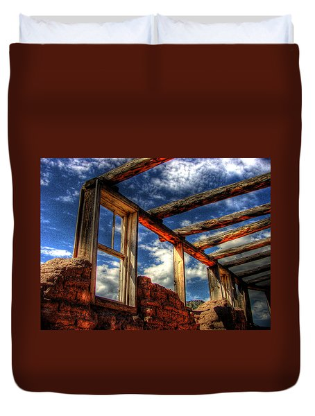 Windows To The Past Duvet Cover by Timothy Bischoff