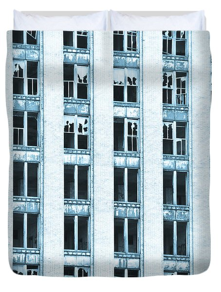Windows To The Soul Duvet Cover by Priya Ghose