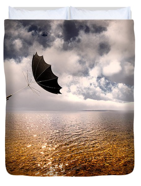 Windy Duvet Cover by Bob Orsillo