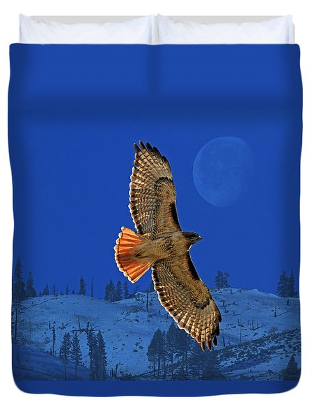 Wings Duvet Cover by Donna Kennedy