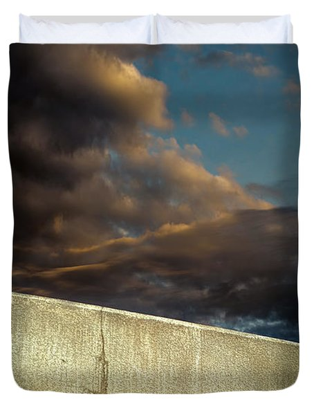 Wingtips  Duvet Cover by Bob Orsillo