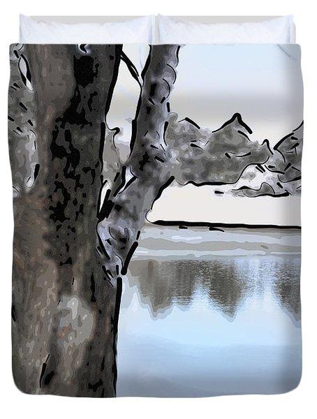 Winter Beauty Duvet Cover by Betty LaRue